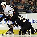 Anaheim Ducks V Dallas Stars by Bruce Bennett