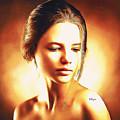 Anastasia Portrait by Nenad Vasic