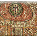 Ancient Tile And The Cross by Darrel Giesbrecht