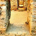 Ancient Windows Aztec Ruins by Jeff Swan