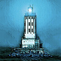 Angels Gate Lighthouse /textured by Joe Lach