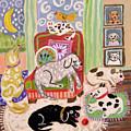Animal Family 1 by Karen Fields