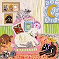 Animal Family 2 by Karen Fields