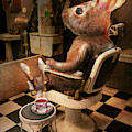 Animal - Rabbit - Hare Cut by Mike Savad