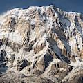 Annapurna I Peak At 8091m In Nepal by Didier Marti