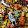 Antique Childerens Toys by Garry Gay