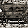 Antique Mining Wagon by Kae Cheatham