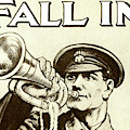 Antique Recruitment Poster For The British Army During World War One by English School