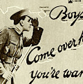 Antique Recruitment Poster For The British Army In The First World War, 1915 by English School