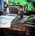 Antique Sewing Machine by Joseph Vittek