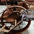 Antique Tractor Seat by Mary Capriole