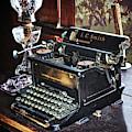 Antique Typewriter 2 by Joseph Vittek