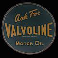 antique Valvoline motor oil sign by Chris Flees