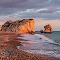 Aphrodite's Birthplace Or Petra Tou Romiou In Cyprus 2 by Iordanis Pallikaras