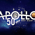 Apollo 11, 50th Anniversary Logo, 2019 by Science Source