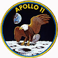 Apollo 11, Mission Patch, 1969 by Science Source