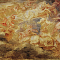 Apollo In The Chariot Of The Sun             by Peter Paul Rubens