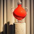 Apple Vase by Jarmo Honkanen