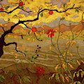 Appletree And Red Fruit by Paul Ranson