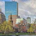 April Morning In Boston's Public Garden by Kristen Wilkinson