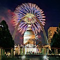 Arch Fireworks 2 by Marty Koch