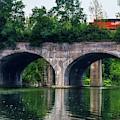Arched Train Bridge   by Jim Lepard