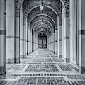 Arched Walkway by James Woody