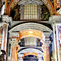 Arches At Saint Peter's Basilica In Vatican City by John Rizzuto