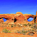 Arches Moon Eye by Greg Norrell