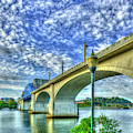 Architectural Arches Chief John Ross Bridge Spanning The Tennessee River Art by Reid Callaway