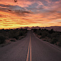 Arizona Highways Sunset by Chance Kafka
