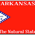 Arkansas State License Plate by Bigalbaloo Stock