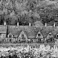 Arlington Row Monochrome by Tim Gainey