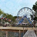 Arnolds Park - Grunge Look by Kathy M Krause