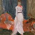 Arrangement In Pink, Red And Purple by James Abbott McNeill Whistler