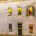 Art In The Windows by Max Huber