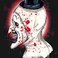 Art The Clown by Ludwig Van Bacon