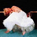 Artpoppin Hotty Totty Abstract Marilyn Monroe by Catherine Lott
