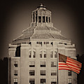 Asheville City Hall Sepia by Joye Ardyn Durham