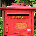 Asian Mail Box by David Lee Thompson