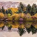 Aspen Colorado Autumn Mountain Panorama by Gregory Ballos