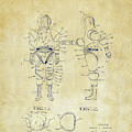 Astronaut Space Suit Patent 1968 - Vintage by Nikki Marie Smith