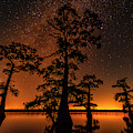 Atchafalaya Basin On Fire by Andy Crawford