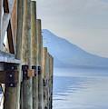 Atitlan Pier by Bill Hamilton