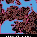 Auckland City Map by Helge