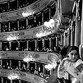 Audience In Elegant Boxes At La Scala Op by Alfred Eisenstaedt