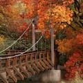 Autumn Across The Bridge  by Saija Lehtonen