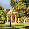 Autumn Arrives On Salem Common by Jeff Folger