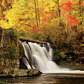Autumn At Abrams Falls by Greg Norrell