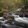 Autumn At Bear's Den Falls by Kristen Wilkinson